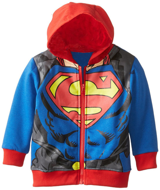 9b7a2315291 Spring Autumn New Spiderman Coat for Boys Cotton Kids Jacket Outerwear  Children s Clothing Superman Hoodies Coats Baby Costume