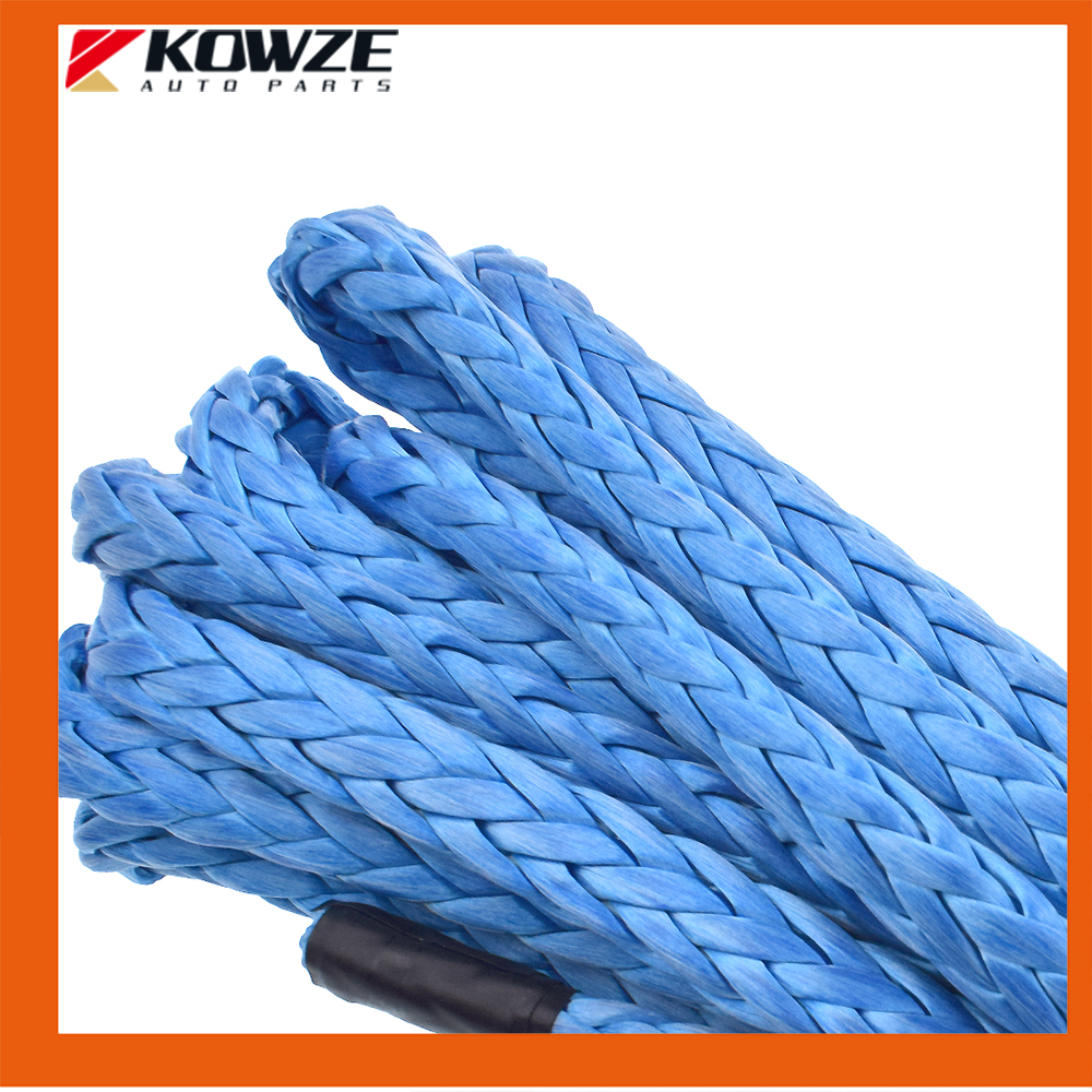 Kowze Blue 7mm*7m Synthetic Nylon Towing Rope Stainless BOAT