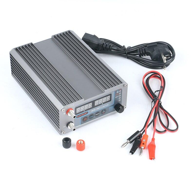 CPS-3205 Upgrade NPS-1601 Adjustable Laboratory Power Supply Digital Switching Power Supply OVP/OCP/OTP WATT 32V 5A 0.001A 0.01VCPS-3205 Upgrade NPS-1601 Adjustable Laboratory Power Supply Digital Switching Power Supply OVP/OCP/OTP WATT 32V 5A 0.001A 0.01V