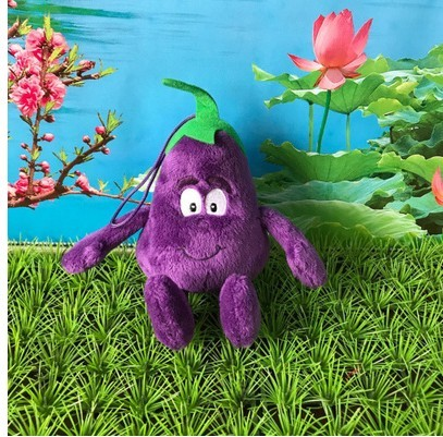 Small stuffed plush toy  vegetable blueberry eggplant peas baby  children chrismas  gift toy