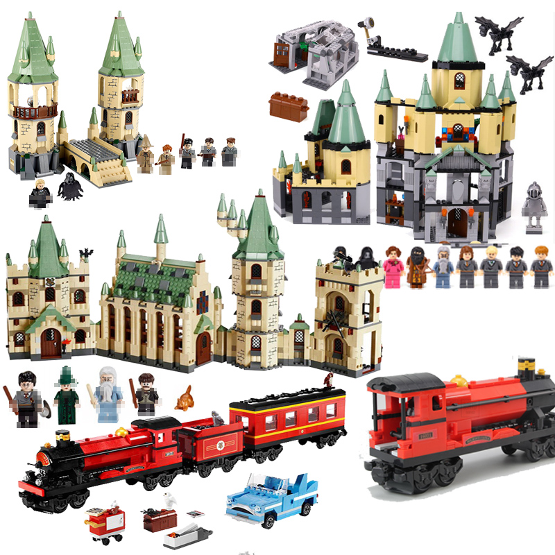 LEPIN Classic Movie Hogwarts Castle Express Building Blocks Bricks Toys For kids gift brinquedos legoINGly 4867 4842 5378 4841 ideal e 4867