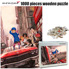 MOMEMO The Dance Wooden Jigsaw Puzzle 500/1000 Pieces Adult IQ Challenging Toys 000 Game for Children Gifts