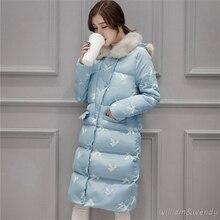 Woman Ukraine Winter Warm Windcheater Hooded Cheap Long Suit Big Jacket Thick Faux Fur Collar Coat Palto Parka Buttons Overcoat