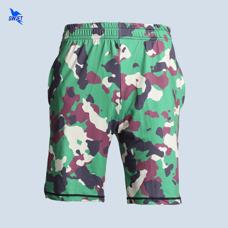 Mens Gym Fitness Micro Fiber Camouflage Shorts Running Jogging Sports Calf-Length Crossfit Sweatpants Quick Dry Camo Board Short