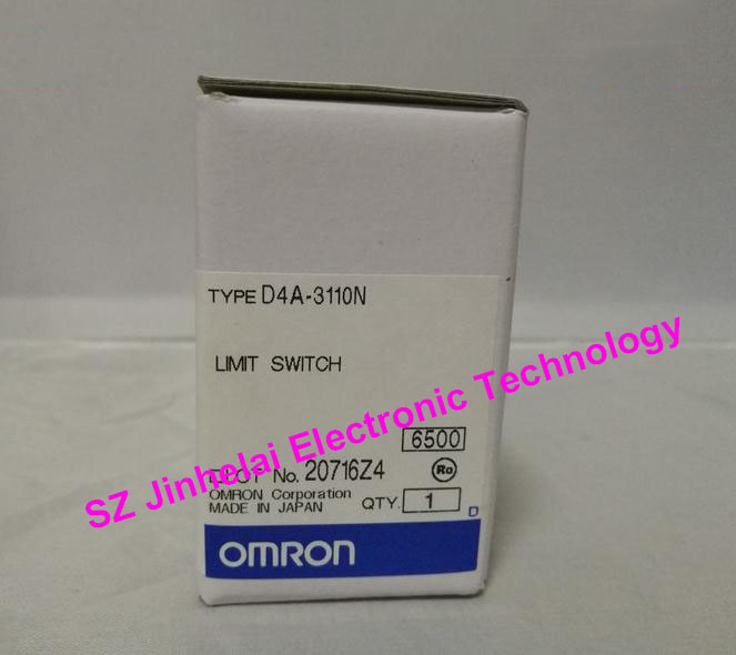 New and original OMRON LIMIT SWITCH  D4A-3110N [zob] 100% brand new original authentic omron omron limit switch factory direct wlca2 55le