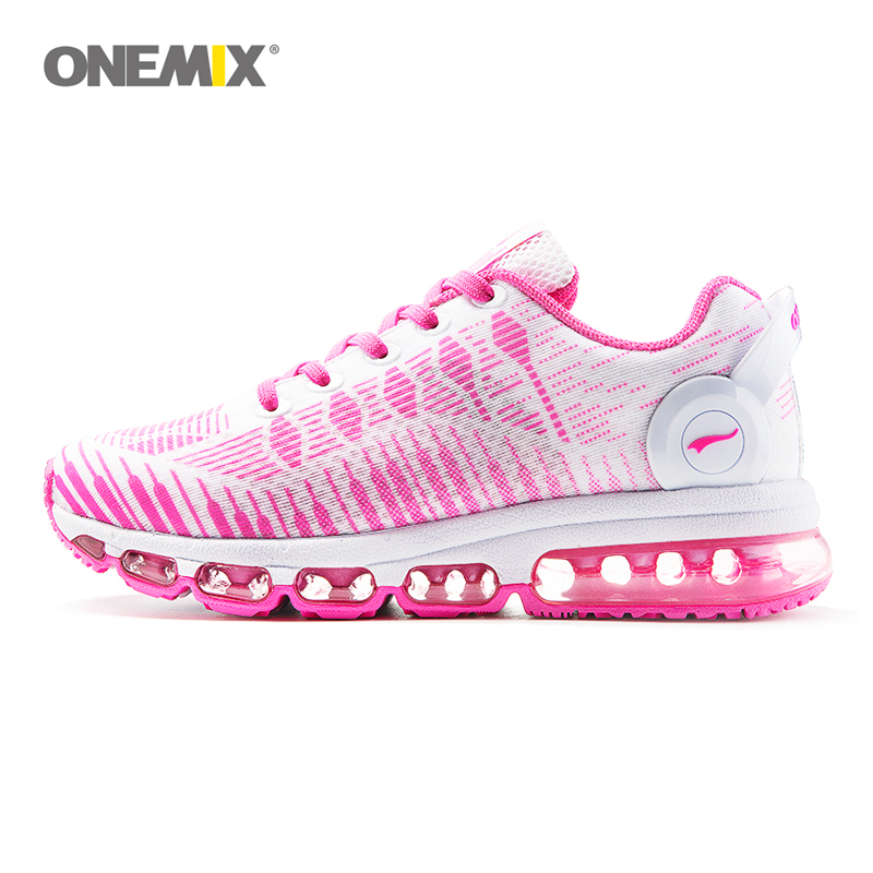 Onemix 2017 Women's running shoes sports shoes light air bottom breathable mesh shoes anti-skid outdoor sports shoes EU36-40 2017brand sport mesh men running shoes athletic sneakers air breath increased within zapatillas deportivas trainers couple shoes