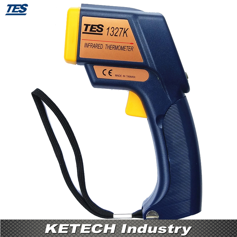 TES-1372R  Infrared K Type Thermometer (2 in 1 Infrared:-35-500C Contact:-150-1350C) tes ro 18 14 ts 323 35