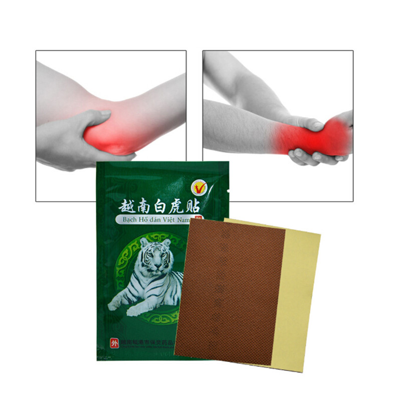 8pcs/lot White Tiger Balm Medical Plasters Foot Pad Patch Feet Care Body Massager Pain Relief Help Sleep Health Care 50% OFF Beauty & Health
