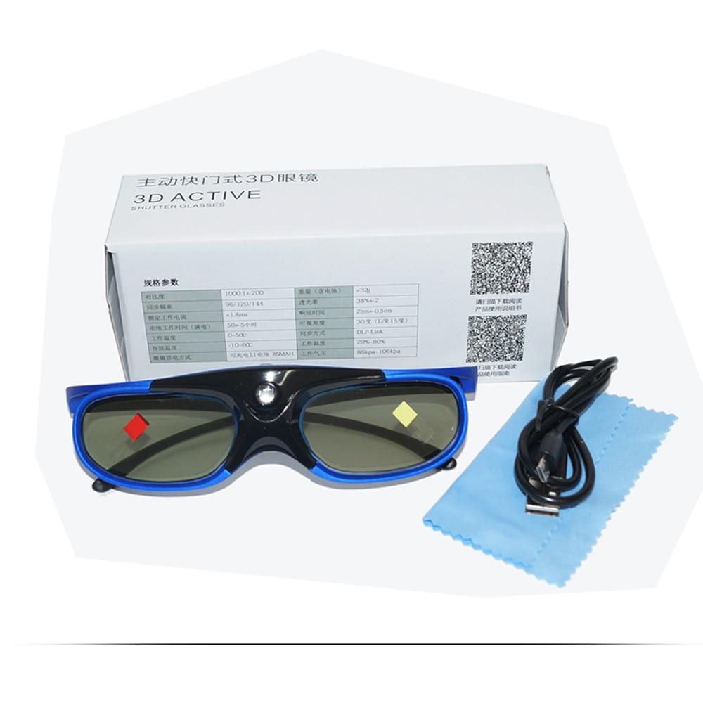 Active DLP 3D Glasses For CRENOVA DLP 3D Projector DL-310 5