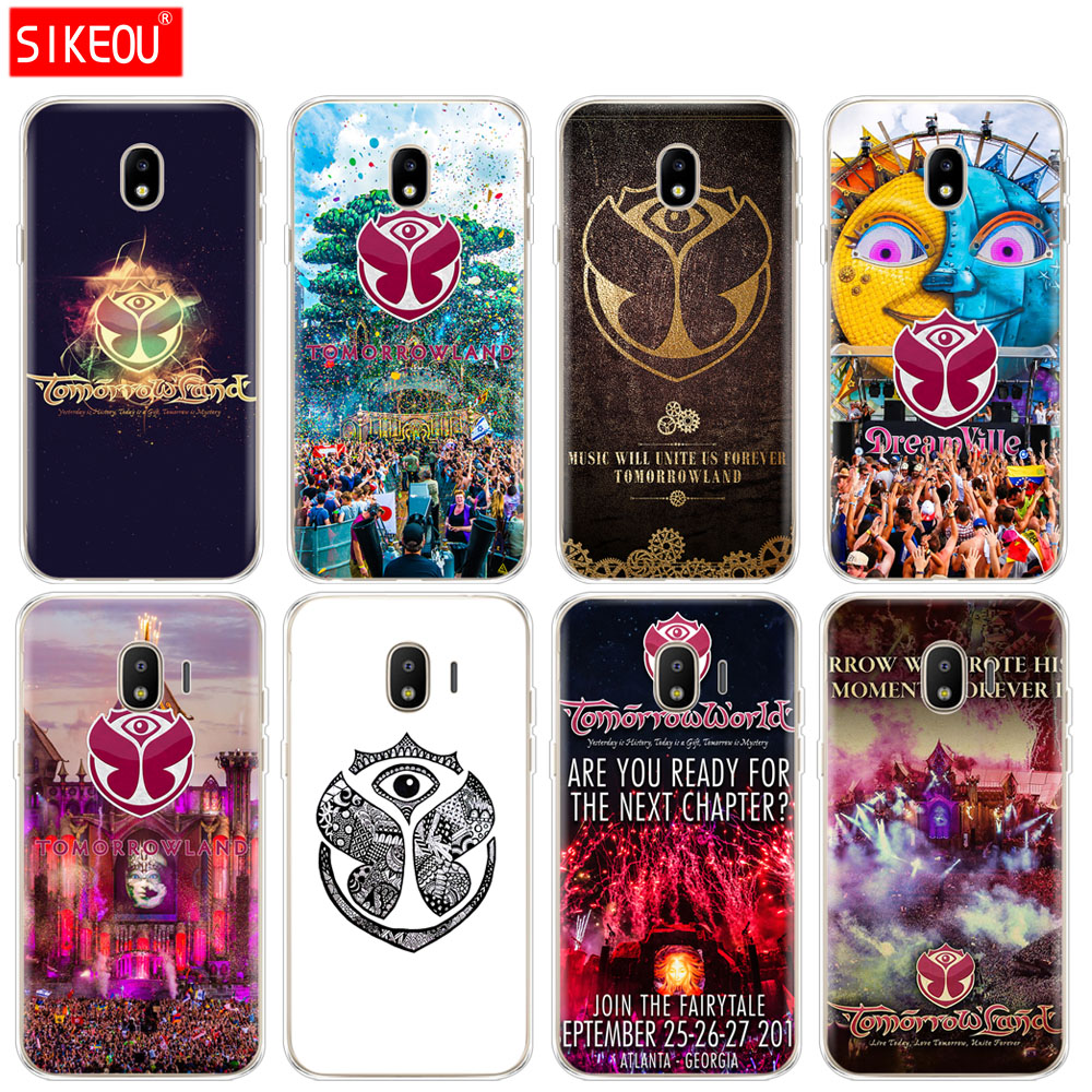 silicone cover phone case for Samsung Galaxy J3 J5 J7 2017 J330 J530 J730 PRO j2 2018 Tomorrowland Electronic Music Festival
