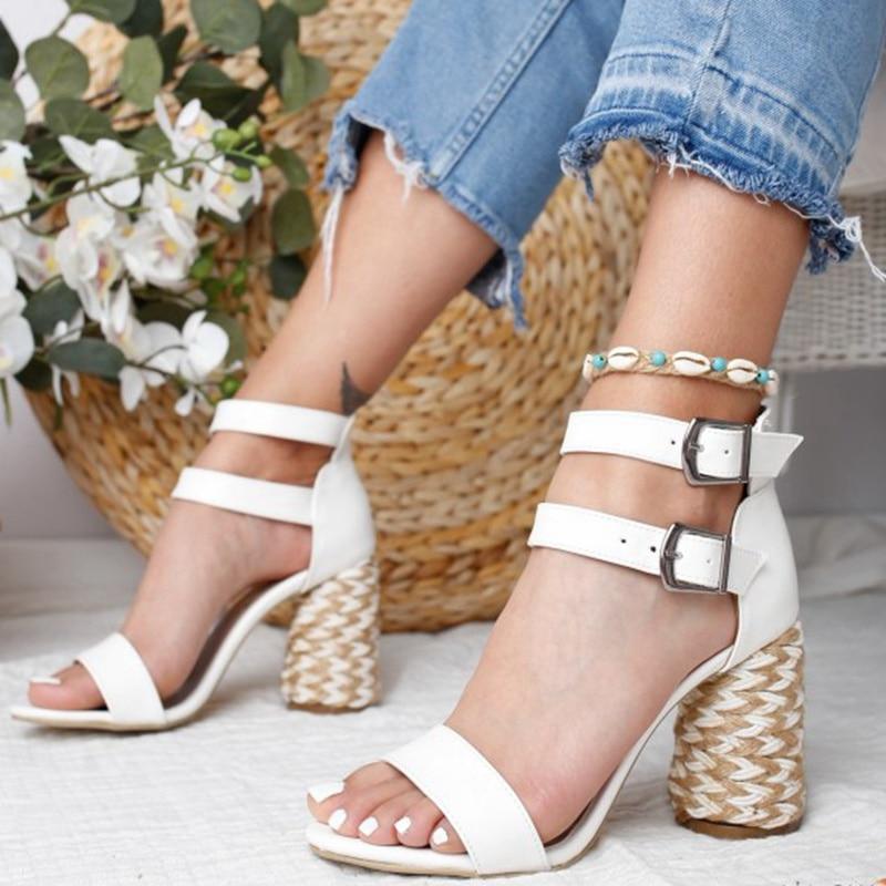 MoneRffi Shoes 2019 Ankle Strape Sandals Zapatos De Mujer Woman Womens High Heel Sandal Ladies Wedges Platform Feminino Sandals