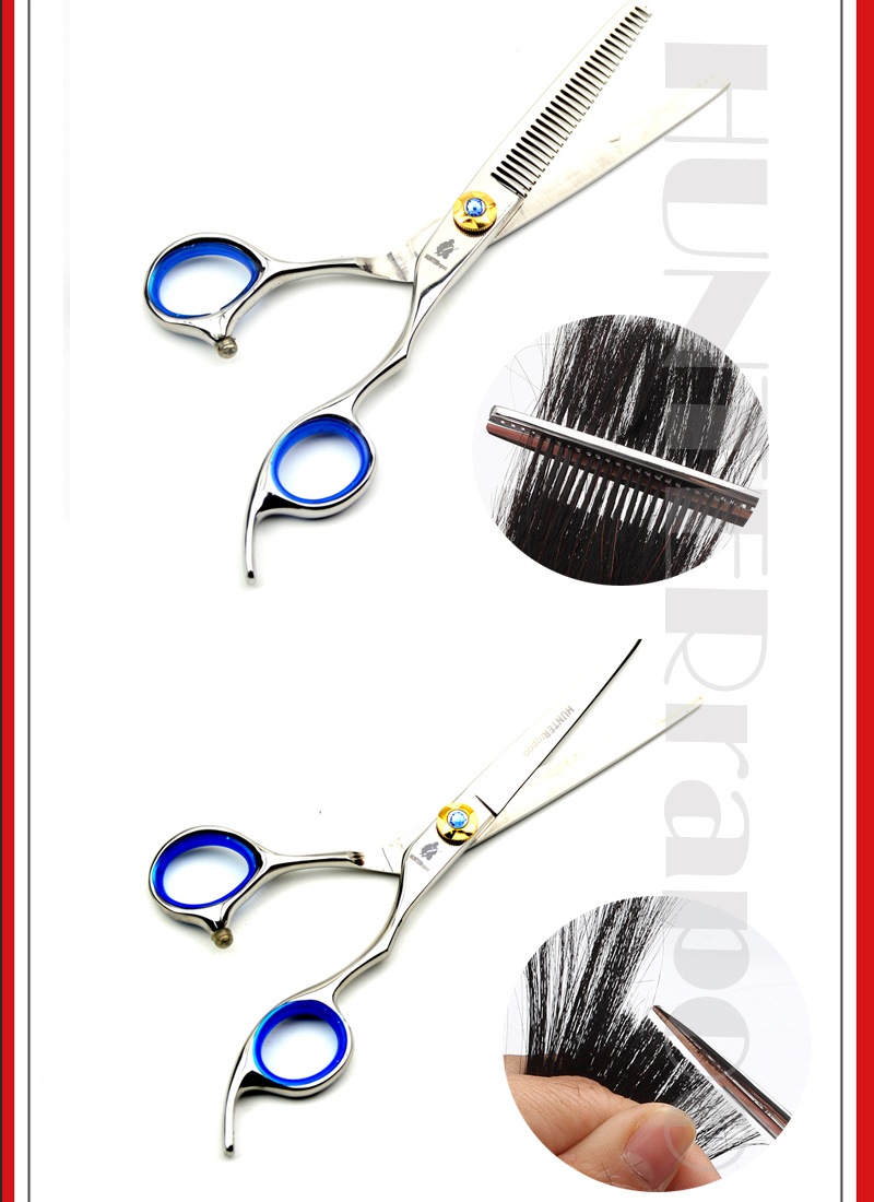 Ht9120 Professional 6 Barber Scissors Set Cutting Scissor Thinning Fm Wireless Microphone By Bc557 1 2 5 3