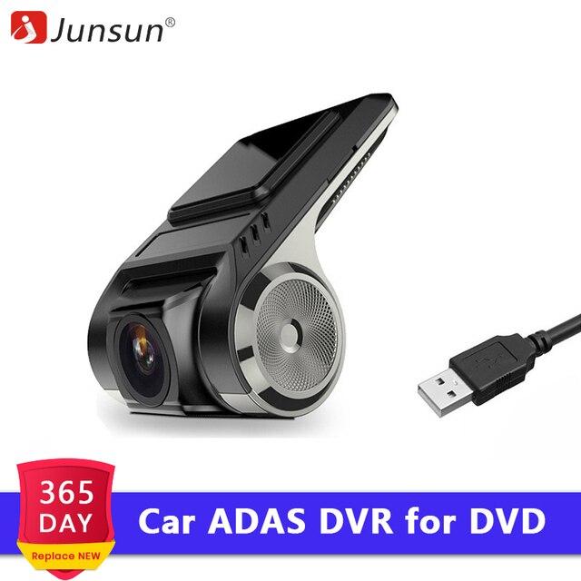 Junsun S500 ADAS мини Видеорегистраторы для автомобилей Камера Full HD LDWS Авто Цифровой Видео Регистраторы регистраторы для андроид мультимедийный проигрыватель