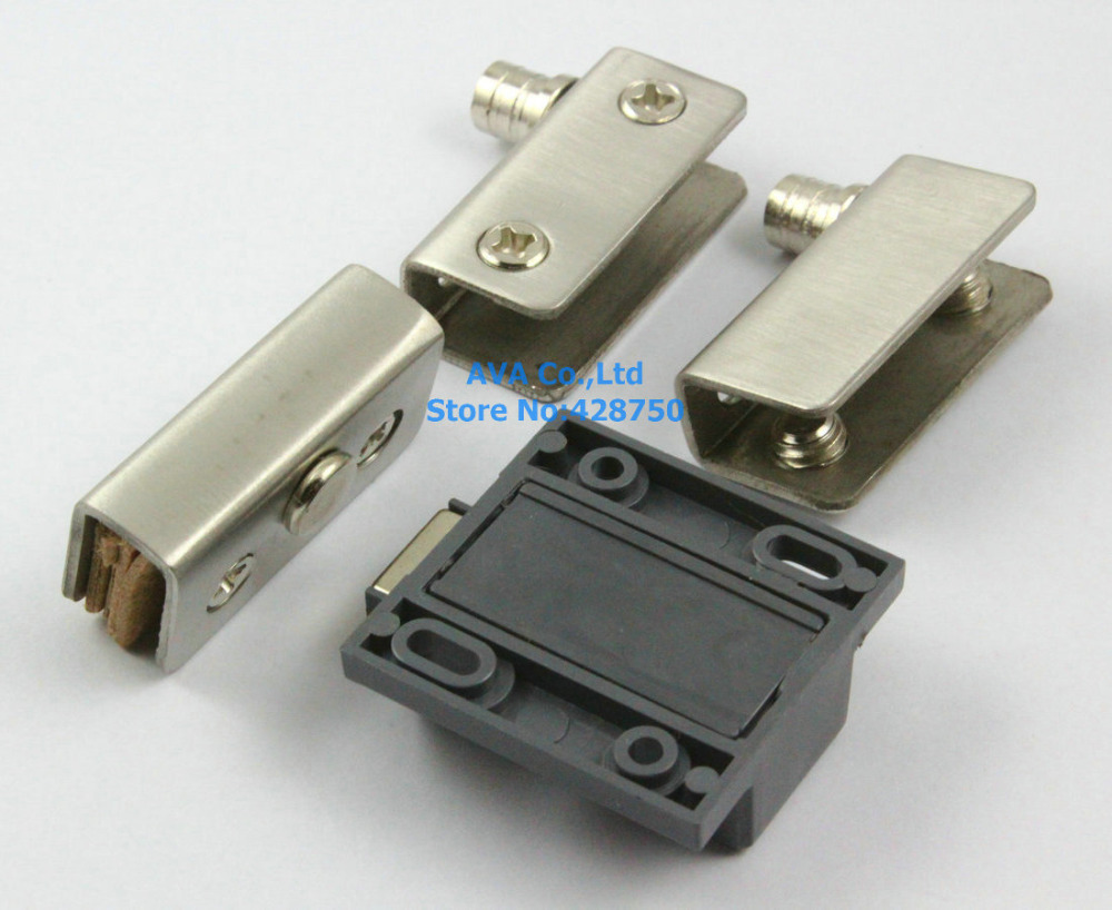 Aliexpress buy 2 x press open single glass door pivot hinge aliexpress buy 2 x press open single glass door pivot hinge set clamp clip magnetic catch latch from reliable glass door pivot hinge suppliers on ava eventelaan Choice Image