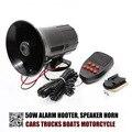 OKC-50 W Car horn Siren 5 Sound Horn Siren PA System 12V Warning Loud Megaphone POLICE CAR SPEAKER