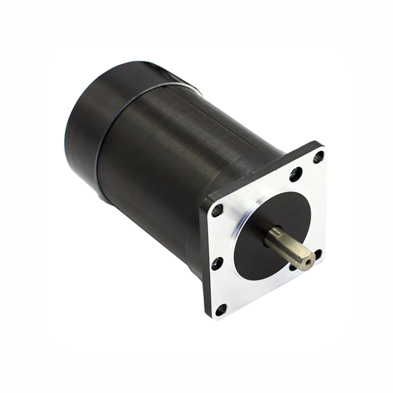 купить Square flange 57mm Round body 24V 3000RPM 100W 0.32N.m Brushless DC Motor 3phase body length 95mm BLDC motor онлайн