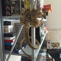 ORIGINAL Alien Chestburster / Facehugger 1:1 PU PVC Collectible Figure Model Toy