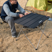 NatureHike New Outdoor Camping Hiking Ultralight Folding Table Travel Wild Dining Picnic Table Thicken Oxford Portable