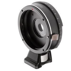 Image 1 - Anel adaptador de lente de abertura integrado, para canon eos ef lente para m4/3 micro 4/3 gh5 gf6 g7 E M5 E M5 ii câmeras E PL1