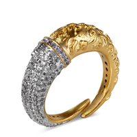 Luxury Rings for women with cubic zircon copper ring party fashion jewelry free shipment wholesale price