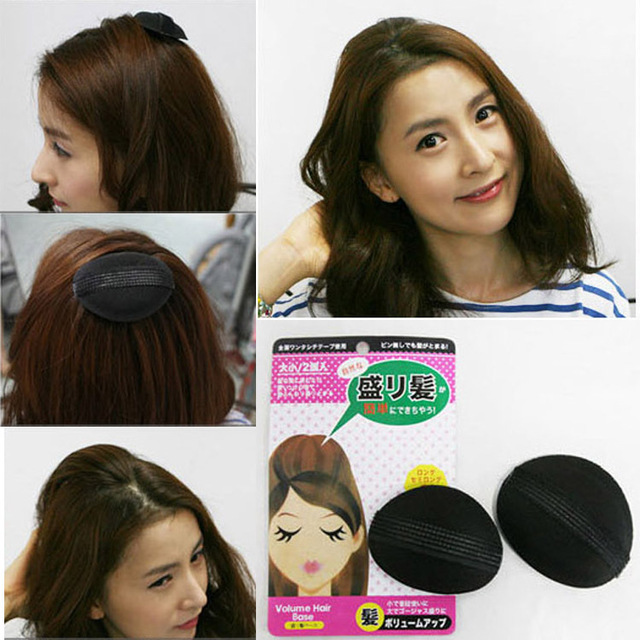 Hair Base P Styling Insert Tool Volume Fluffy Princess Increased Sponge Pad Puff