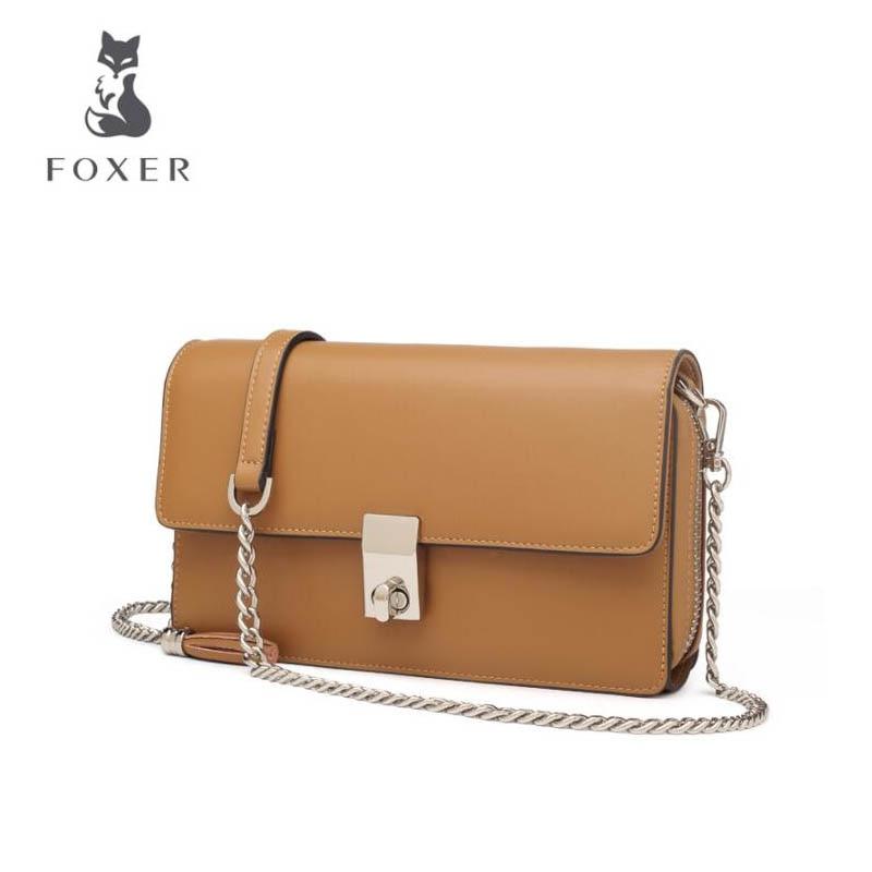 FOXER tas Fringe clutch 2018 musim panas mini rantai bahu Messenger bag  Korea besar kapasitas dompet f671120bfc