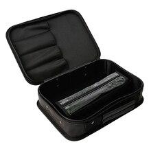 Bolsa de tijeras para peluquería organizador de peines de gran capacidad, pinzas para el pelo, tijeras de corte, estuche de almacenamiento para peluquería UN515