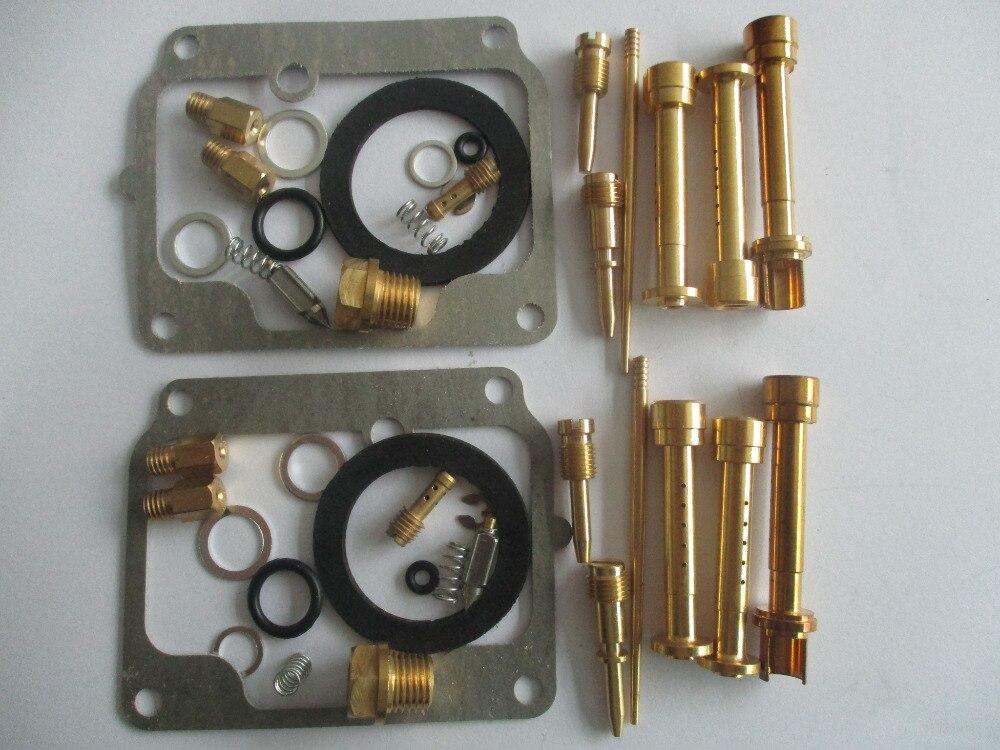 2 sets*MS Carburetor Repair Kit RD 350 LC YPVS 83-85 RD 350 LCN 1986-1989  1WX 27 PS carbruetor rebuild kit