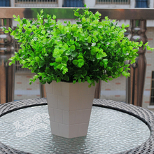 1PC Artificial Green Leaves Small Eucalyptus Plant Wall Material Decoration Fake Plants Home Shop Garden