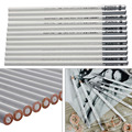 12pcs White Fine Art Drawing Non-toxic Base Pastel Pencils Set For Artist Sketch chalk Color Pencil