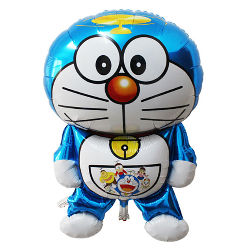 3Pcs Lot Ballons Birthday Balloon Delivery Toys Baby Bottle Doraemon Party Gift Decoration Balloons