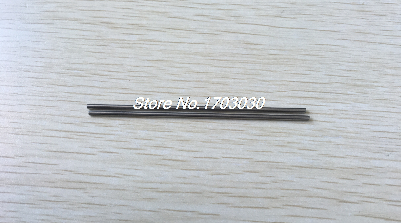 15 Pcs Car Model Toy DIY Stainless Steel Axles Rod Bars 3mm x 80mm