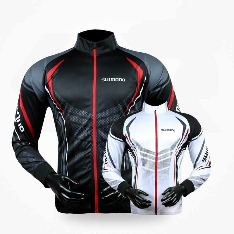 2018 new Fishing Clothing Professional Fishing Shirts Long Sleeve Bamboo Fiber UPF 50+ Breathable Quick Dry Fishing Clothes