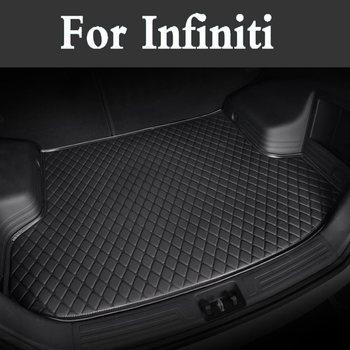 Auto Car Styling Custom Car Trunk Mat Auto Accessories Custom Cargo Liner For Infiniti Qx50 Q50l Fx Ex Jx G M Qx56 Qx80