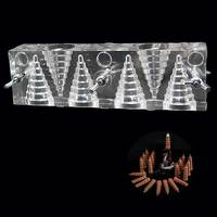 Ароматная форма DIY Incesne инструмент ручной работы башня благовония плесень обратного потока благовония конус благовония ручной работы инстр...