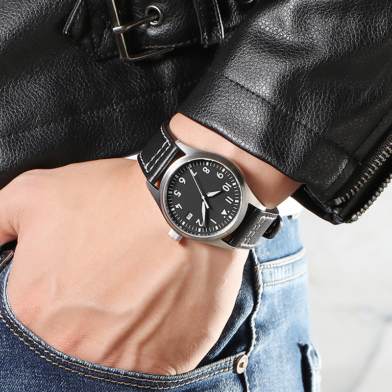Men Automatic Diver Watch Waterproof 200m 316 Stainless Steel Mechanical C3 Luminous Watches Sapphire Glass mekanik kol saati