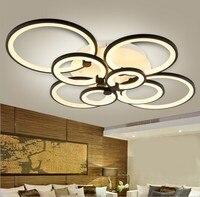 Fashion Remote control living room bedroom modern led ceiling lights luminarias para sala dimming led ceiling lamp light