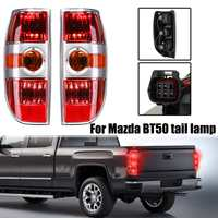LED Rear Tail light Brake Light with Wire harness Fit For Mazda BT50 2007 2008 2009 2011 Red Brake Lamp Rear Lamp #UR56 51 160
