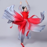 Chinese traditional dance classical ethnic Chinese dance costumes ancient chinese national costume stage wear AA4499