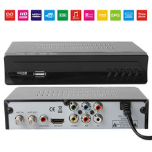 Receptor de tv para o brasil Peru TV Receiver VHF UHF Antenna Digital Terrestrial ISDB-T Tuner tv set top box 1080P USB EPG HDMI