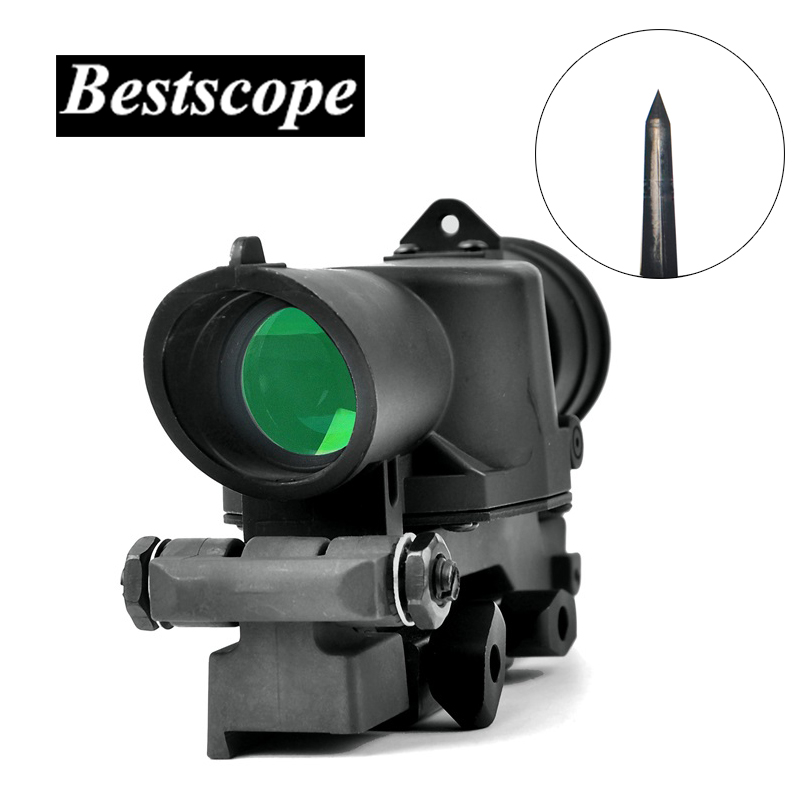 L85 SUSAT Iron Sight 4x32 Optical Sight Red Illuminated Rifle Scope Quick Detach Hunting Scopes Tactical Rifle Scopes st3038 shoot thing xwxs l85 susat iron 4x32 optical sight rifle shotgun scope quick detach for airsoft weaver mount