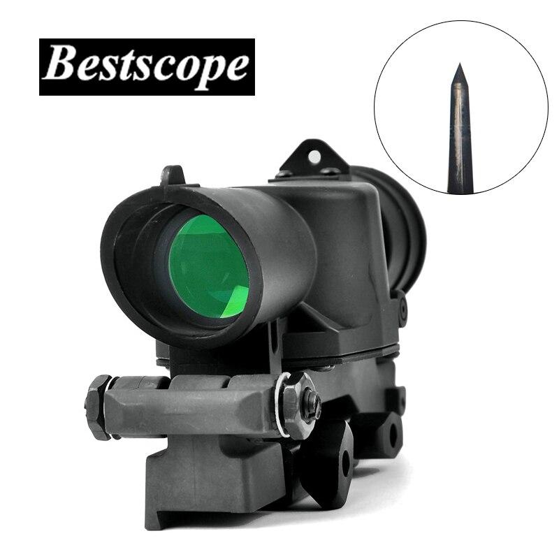 L85 SUSAT Iron Sight 4x32 Optique Sight Fusil Rouge Lumineux Portée Quick Détacher de Chasse Scopes Tactique lunettes de Visée