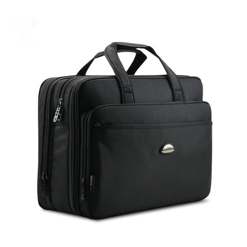 Large Male Briefcases Multi-Layered Portable Big Laptop Bag Fashion Business Men Oxford Briefcases For Men Handbags