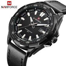 Nouveau Luxe Marque NAVIFORCE Montres Hommes Quartz Heure Date En Cuir Horloge Homme Sport Armée Militaire Montre-Bracelet Relogio Masculino