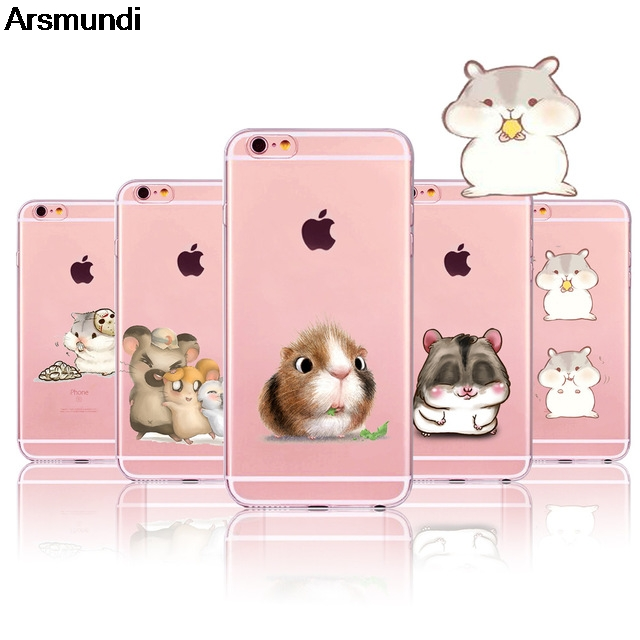 Arsmundi font b 2018 b font New animali Criceto Phone Cases for font b iPhone b