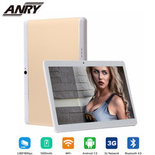ANRY 10,1 pulgadas Tablet computadora MKT6580 Quad Core HD pantalla 4 GB RAM 32 GB ROM GPS navegación Android 7,0 llamada 3G WiFi Tablet PC(China)