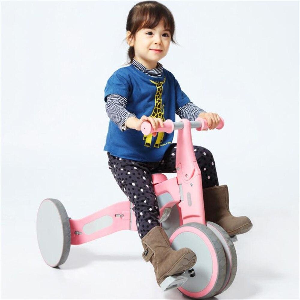 Balade bébé sur jouets enfant enfants balade en équilibre jouet voiture Tricycle équitation et glissement double Mode en plein air comme jouets éducatifs de Xiaomi