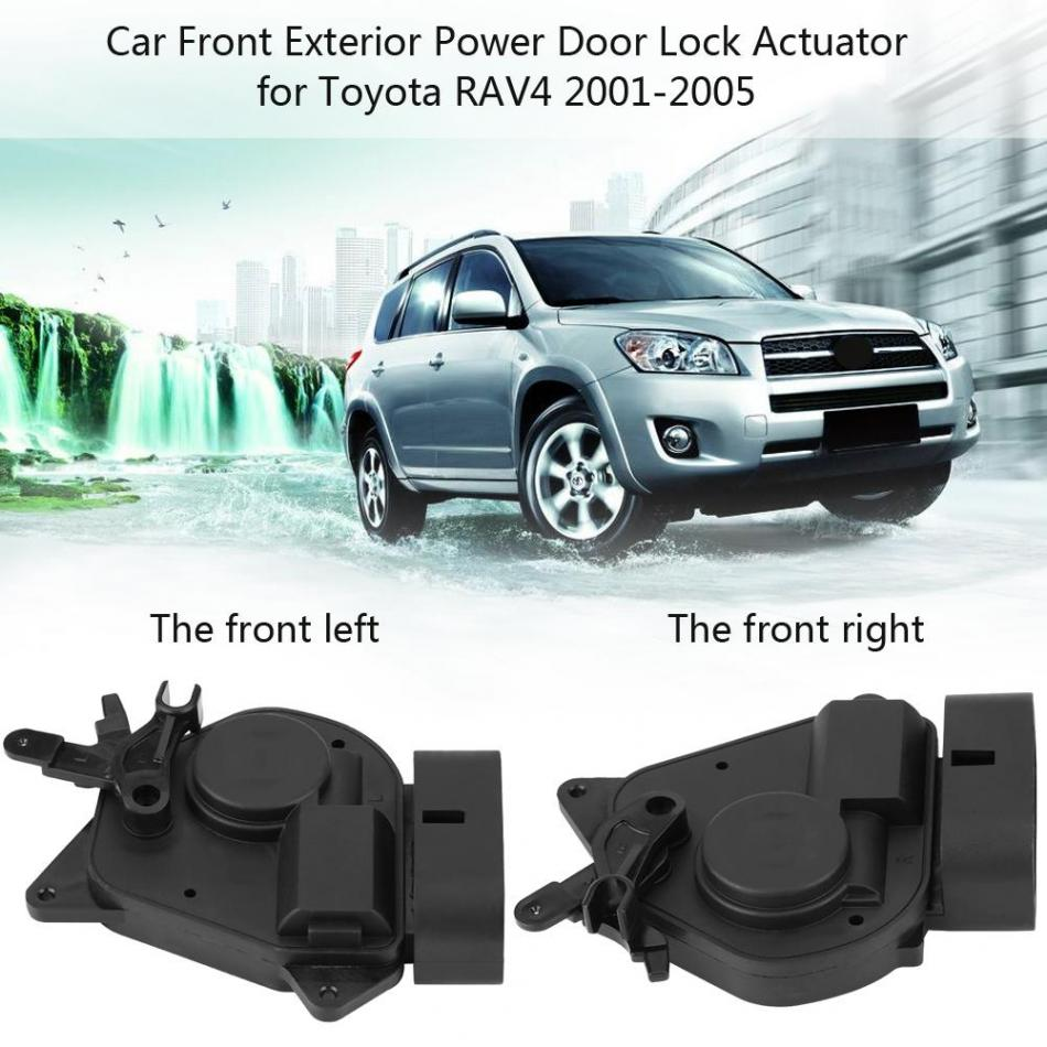 Car Front Left/Right Exterior Power Door Lock Actuator for Toyota RAV4 2001-2005 69120-42080 69110-42120 Car Accessories