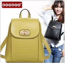 Doodoo mochila модельер высокое качество кожа pu рюкзак плеча женщины рюкзаки девушки студенты школьные сумки fr375