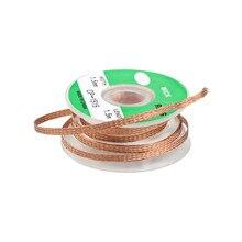 1PC1. 5 м* 3,5 мм оплетка для снятия фитиль инструмент для ремонта проводов